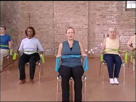 strength warm up chair exercise elderly exercise