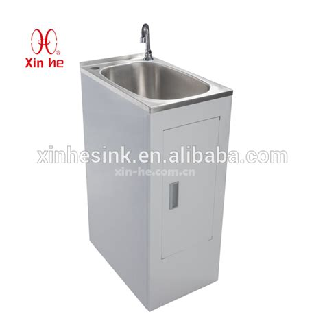 stainless steel laundry sink with cabinet popular economy stainless steel laundry sink cabinet buy