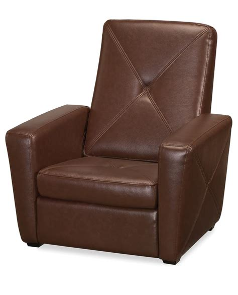gaming chair with ottoman home styles brown vinyl gaming chair ottoman by oj