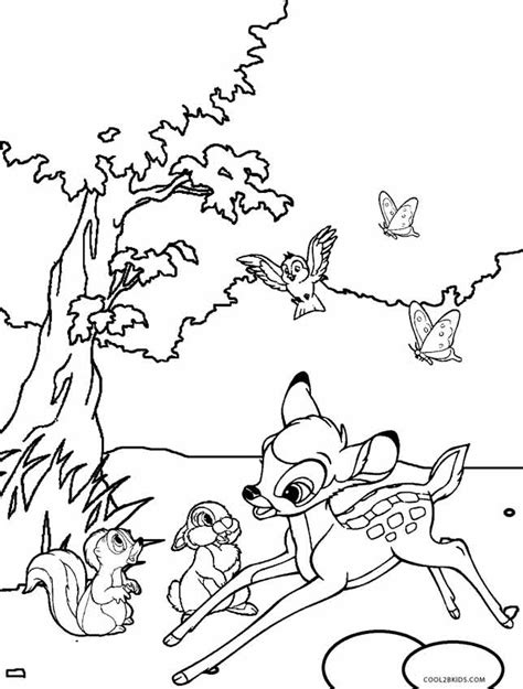 coloring pages disney bambi printable bambi coloring pages for kids cool2bkids