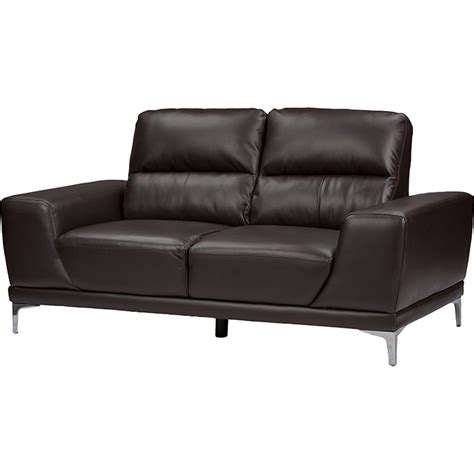 two piece sofa set lambton 2 piece faux leather sofa set dark brown dcg