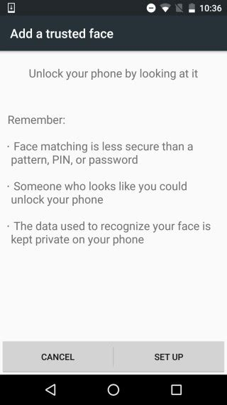 pattern unlock grayed out how to unlock your android phone just by looking at it