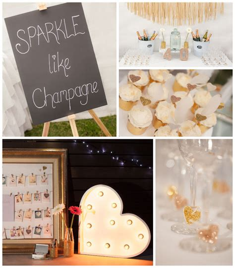 karas party ideas sparkle themed fortieth birthday party