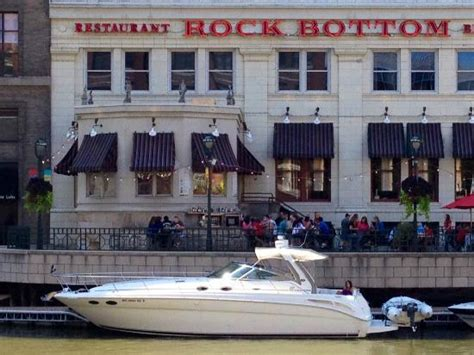 rock the boat brewery inside the pub picture of rock bottom restaurant and