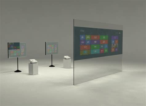 tavoli touch screen pellicola interattiva per vetrine e tavoli touchgesto biz