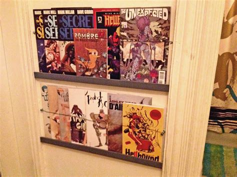 comic book shelves easy comic book or magazine shelves make