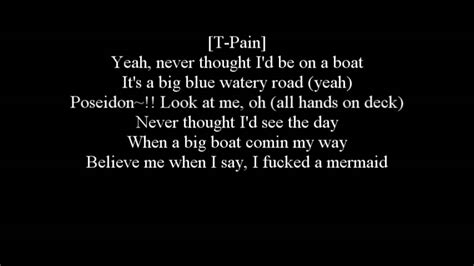 lyrics to i m on a boat the lonely island i m on a boat with lyrics dirty