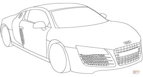 Coloriage Audi R8 Coloriages 224 Imprimer Gratuits