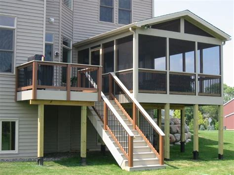 Pictures Of Screened In Decks Best 25 Screened Deck Ideas On Screened In
