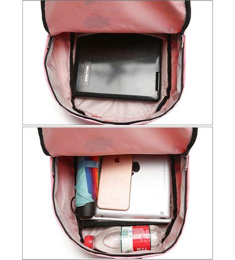 Ransel Kanvas Amour by Paket Tas Ransel Anak 8 In 1 Sekolah Printing Kucing