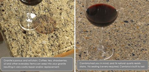 Granite Vs Quartz Countertop by Luxury Homes Brtonbrton Luxury Homes Quartz Vs