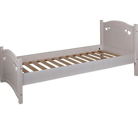 argos bed frames buy collection single bed frame white at argos co uk