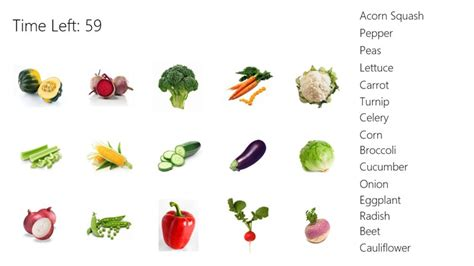 vegetables beginning with a a vegetable beginning with a