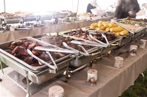 bbq buffet menu ideas bbq wedding must buffet table set up wedding chicken madeira and