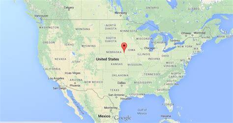 omaha usa map where is omaha on map usa