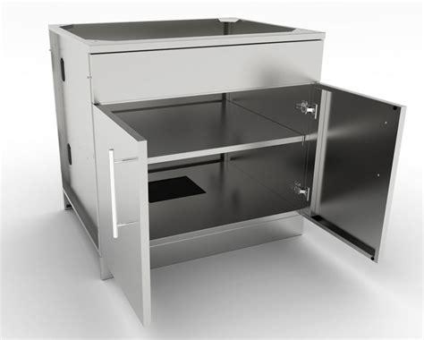 36 Inch Drawer Base Cabinet by Sunstone 36 Inch Door Base Cabinet W Shelf False
