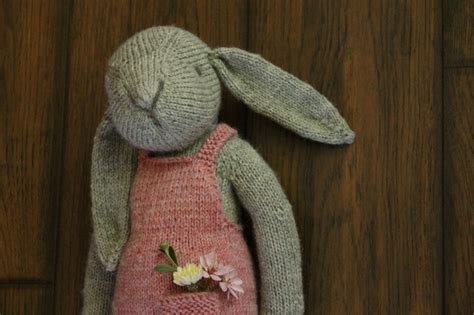 easy rabbit knitting pattern thread bears 174 the hare knit pdf pattern instant