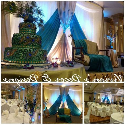 peacock themed wedding decor 80 best wedding decor inspiration images on