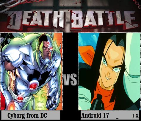 android vs cyborg cyborg from dc vs android 17 by keyblademagicdan on deviantart