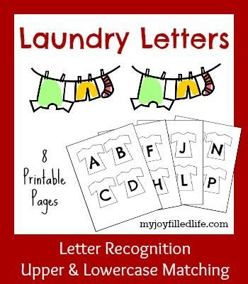 Laundry Letters by Free Laundry Letters Printable