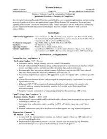 Best Business Resume by 46 Best Business Analyst Resume Sles For Seekers Vntask
