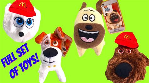 7 Secret Facts About Toys by Mcdonald S Happy Meal Toys The Secret Of Pets
