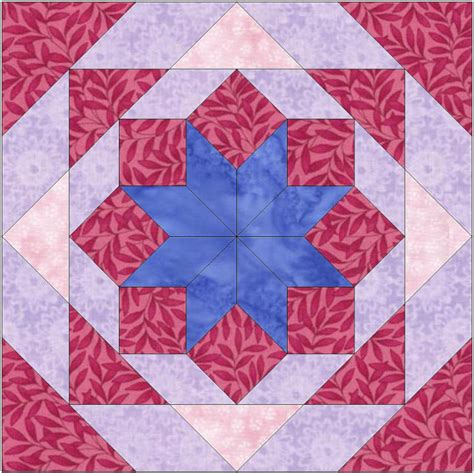 6 Inch Quilt Block Patterns by And Chains Paper Template 6 Inch Quilting Block Pattern