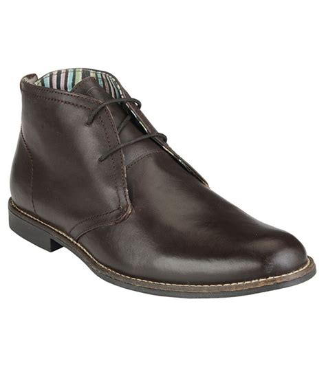 ankle length shoes for delize brown boots price in india buy delize brown boots