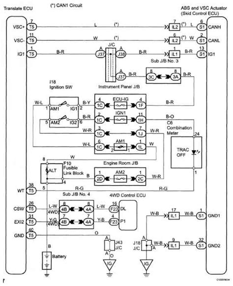 toyota ignition switch diagram wiring diagrams wiring