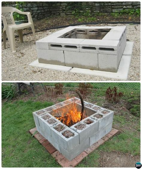 Block Firepit 25 Best Ideas About Cinder Block Pit On Cinder Block Bench Cheap Garden