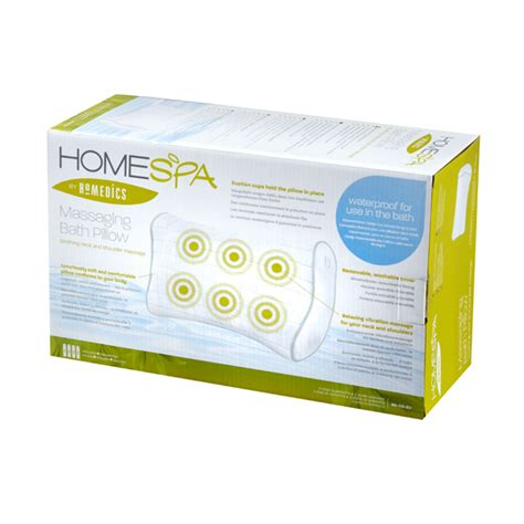 Homedics Massaging Bath Pillow by Homedics Massaging Bath Pillow Bathroom Accessories