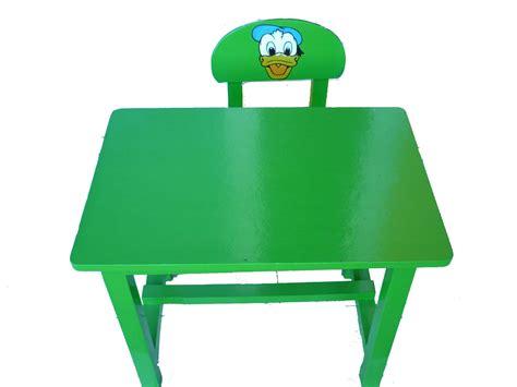 Meja Plastik Tk meja kursi tk hijau mainan kayu