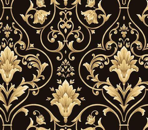 wallpaper pattern gold black 25 best ideas about gold damask wallpaper on pinterest