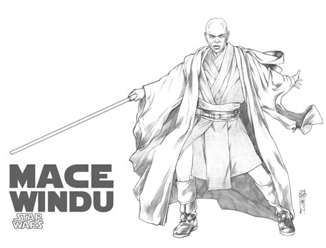 Mace Windu Coloring Pages mace coloring pages