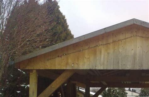 das richtige holz f 252 r den carport nicht nur eine frage - Welches Holz F R Carport Verwenden