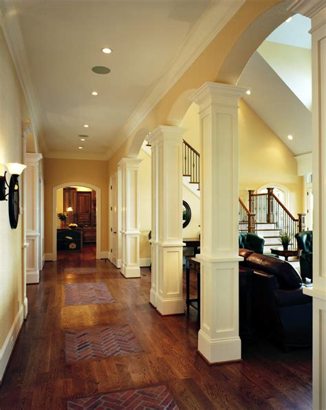 interior house columns decorative columns and millwork will enhance your home