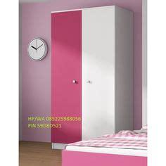 Lemari Pakaian 2 Pintu Minimalis Clarity Door Sliding Hpl Abu Abu Muda lemari pakaian minimalis modern kabinet plafon h f u r n i t u r e modern