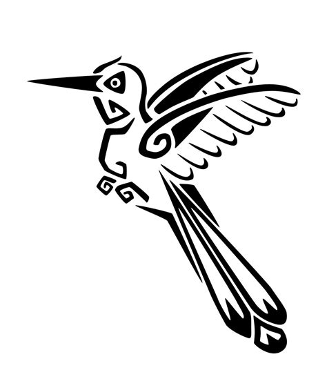bird tribal tattoo hummingbird tattoos designs ideas and meaning tattoos