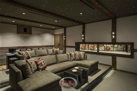 stadium seating couches living room 31 custom quot jaw dropping quot rustic interior design ideas photos