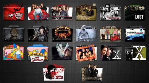 tv shows tv series folder icons hd 512x512 by stavrosvran on deviantart