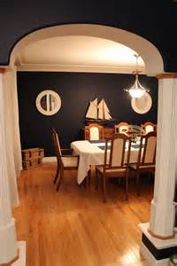 Nautical Dining Room After Reno Nautical Dining Room Home Decorating