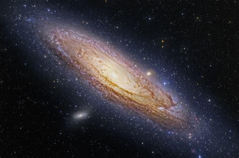 imagenes reales de la galaxia andromeda cumulos