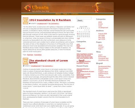 wordpress theme generator ubuntu released ubuntu wp free wordpress theme undercover blog