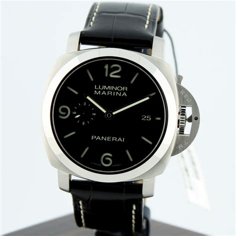u boat watch snob panerai luminor marina euros