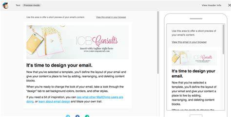 How To Create Mailchimp Newsletter Header Imperfect Concepts How To Create A Mailchimp Template