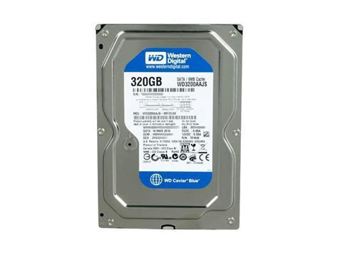 Harddisk 320gb Sata western digital caviar blue wd3200aajs 320gb 7200 rpm 8mb