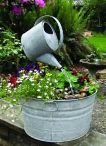 selbstgemacht garten gartenbrunnen selber bauen 17 einfache und originelle