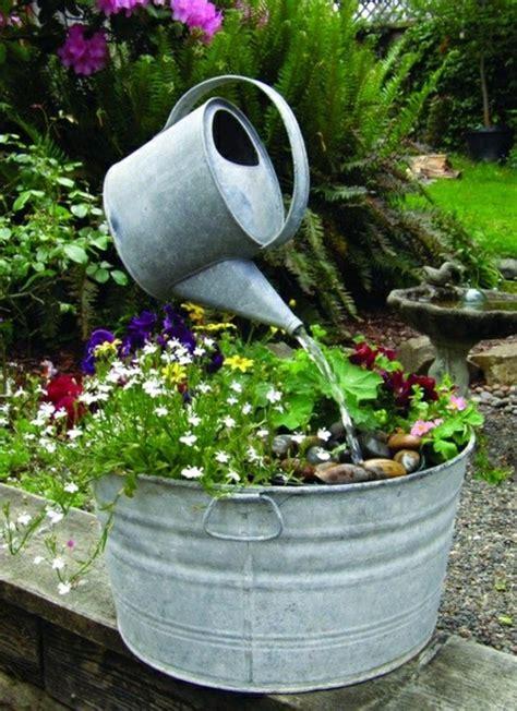 gartenbrunnen selber bauen 17 einfache und originelle