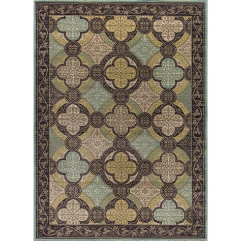lowes rugs 5x8 tayse rugs brown 7 ft 10 in x 10 ft 3 in transitional area rug cpr1005 8x10 the home