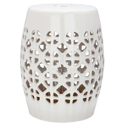 lattice garden stool safavieh circle lattice garden patio stool acs4508b